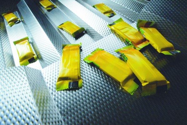 Separate plastic bags